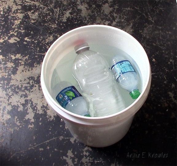 ice bottles