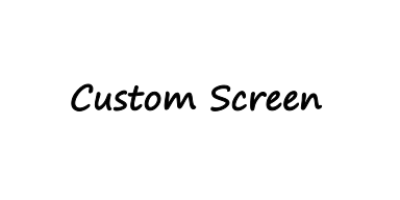 Custom Thermofax Screen